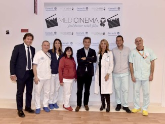 """ll Papa della gente arriva all'Ospedale Gemelli con il film """" chiamatemi Francesco"""""""