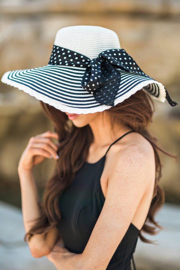 Cappello di paglia, capo trendy dell'estate 2018