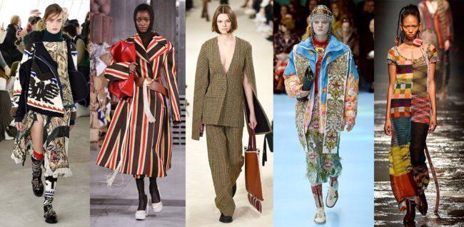 Moda: le ultime tendenze 2018-2019