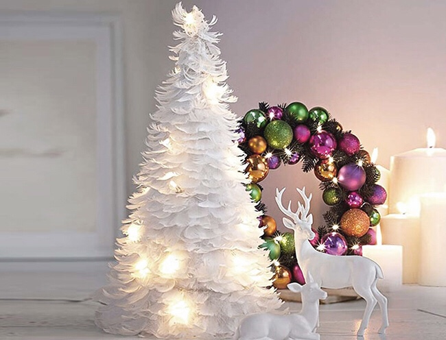 Alberi di Natale originali e di tendenza