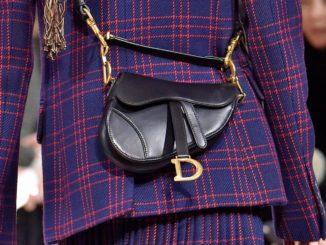 Saddle Bag: torna di moda la borsetta da sella marcata Dior